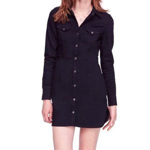 Free People Dynamite in Denim Shirt Dress